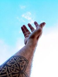 Brazo tatuado