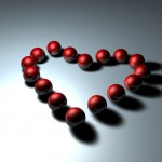 Corazón de bolas