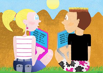 Humor: Amor interactivo