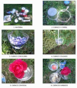 Detalles de jardín románticos