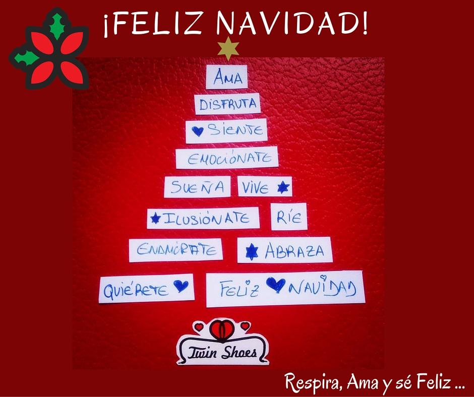 Respira ama y s feliz felices fiestas buscar pareja - Frases para felicitar navidad empresas ...