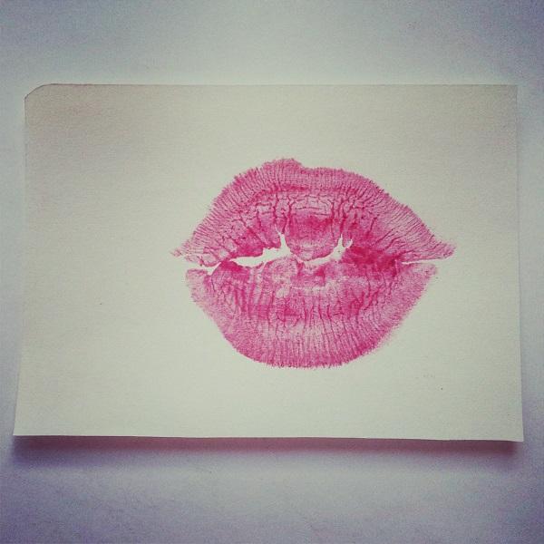 Huella de labios