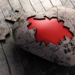 Asomar corazón