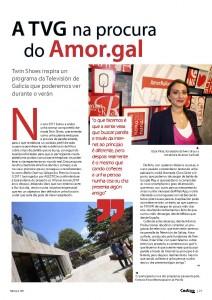 Entrevista Codigo cero Itziar Villar Twin Shoes Amor Na Rede pag1