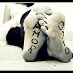 del amor al odio hay un sólo paso