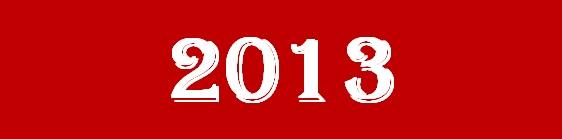 2013 AÑO DEL AMOR