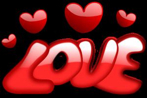 Love con corazones