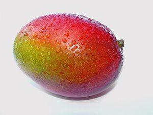 helado de pistacho y mango