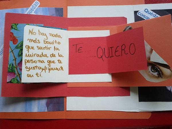 tarjeta con frases de amor