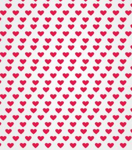 Fondo de Pantalla corazones rojos