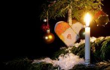 Vela , corazón y árbol