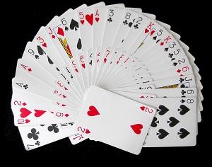 Abanico de cartas