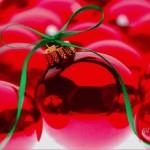 Wallpaper bolas de Navidad