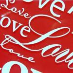 Wallpaper rojo love