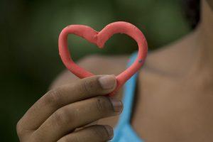 Corazón de plastilina