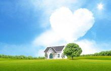 Fondo de pantalla casa del amor
