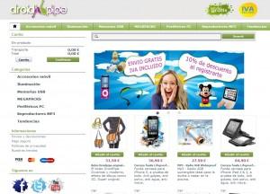 DroidPipe tienda online