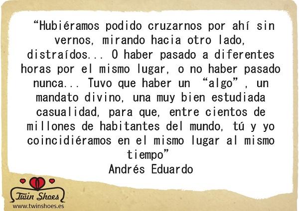 Relato de Andrés Eduardo