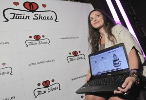 Itziar Villar Twin Shoes 19/10/2011