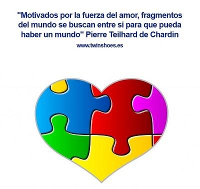 Motivados por la fuerza del amor, fragmentos del mundo se buscan entre si para que pueda haber un mundo.