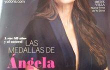 Revista Yodona nº 449, 7 de diciembre del 2013, donde sale la entrevista a Itziar Villar De Twin Shoes
