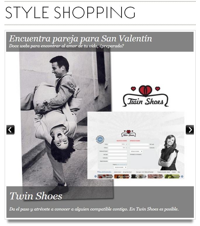 Recomiendan a Twin Shoes como web para encontrar pareja