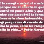 Imagen con frase Pablo Neruda