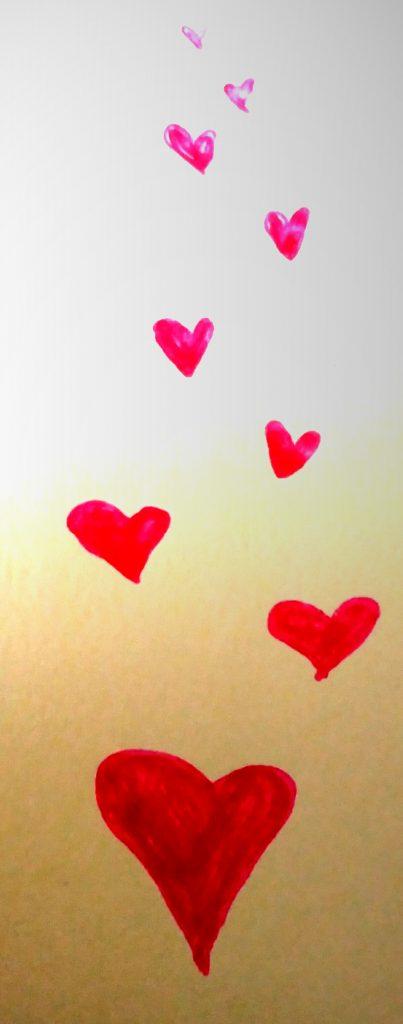corazón evaporándose