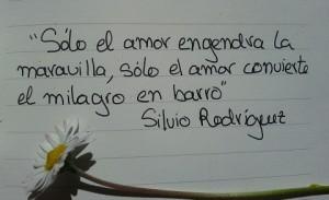 frase de amor Silvio Rodríguez