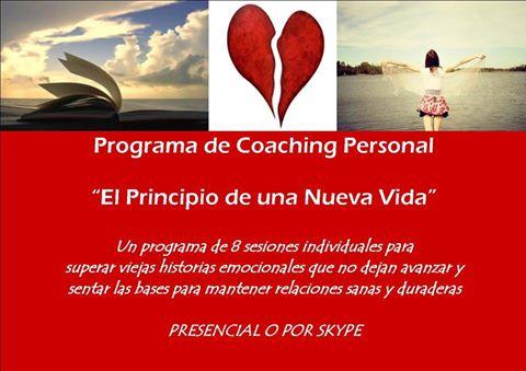 Programa Coaching Personal para superar historias sentimentales pasadas